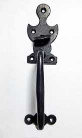 Wrought Iron Suffolk Thumb Latch. Dominant Upper Cusp 100-876