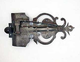 Wrought Iron Colonial Period Latch  245-336