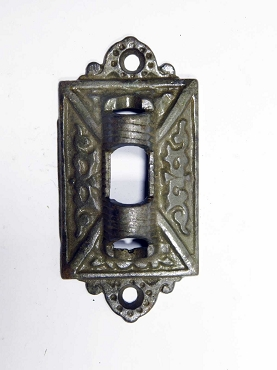 Antique Victorian Wall Bracket in Cast Iron For Armed Oil Lamp Holder 997-871
