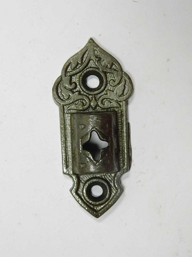 Antique Victorian Wall Bracket in Cast Iron For Armed Oil Lamp Holder 997-872